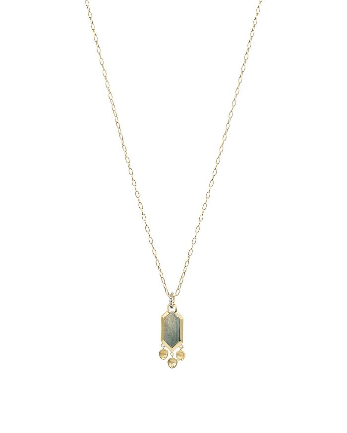 Nadri - Venice Pendant Necklace in 18K Gold-Plated & Ruthenium-Plated Sterling Silver