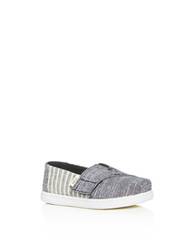 d8c0aa14e13 TOMS - Boys  Alpargata Stripe Slip-On Sneakers - Baby