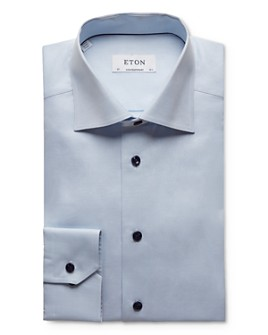 Eton - Micro Solid Regular Fit Dress Shirt