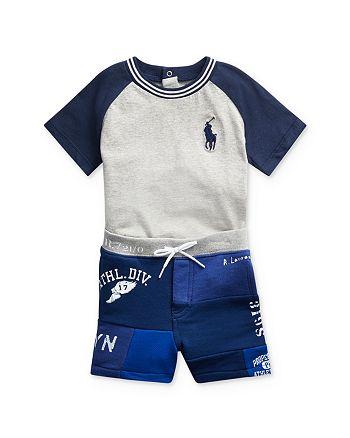 Ralph Lauren - Boys' Tee & Patchwork Shorts Set - Baby