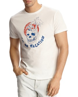 John Varvatos Star USA - I'm On Vacation Graphic Tee