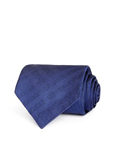 Burberry - Clinton Tonal-Check Silk Classic Tie