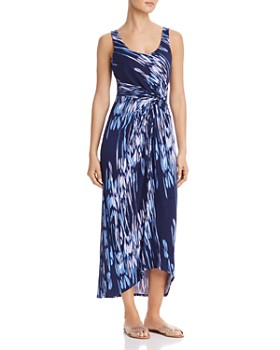 Tommy Bahama - Under the Sea Twist-Front Maxi Dress