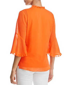 Le Gali - Pipa Embellished Gauze Blouse - 100% Exclusive
