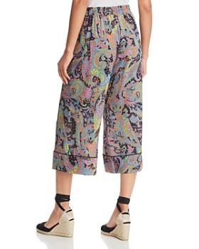 Le Gali - Danni Paisley-Print Cropped Pants - 100% Exclusive