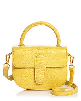 AQUA - Croc-Embossed Mini Bag - 100% Exclusive