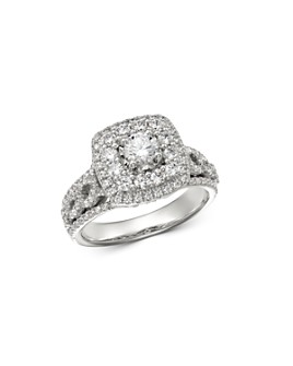 Bloomingdale's - Diamond Engagement Ring in 14K White Gold, 1.25 ct. t.w. - 100% Exclusive