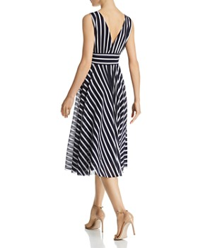 Eliza J - Striped Midi Dress