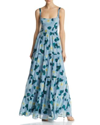 Devon Printed Gown by Fame And Partners