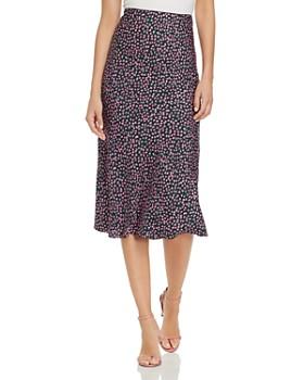 3484bd2d946c Rebecca Taylor - Wild Rose Floral-Print Midi Skirt ...