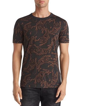 Antony Morato - Yes We Camp Tiger-Print Tee
