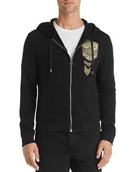Versace Collection - Logo-Appliqué Hoodie