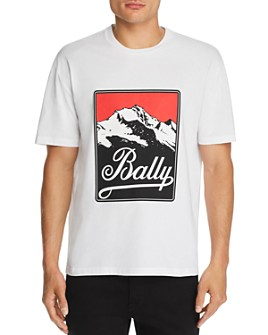 Bally - Mountain Logo Graphic Tee