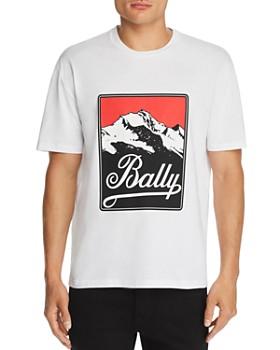Bally - Mountain Logo Graphic Tee