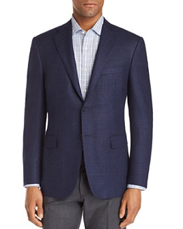 Canali - Siena Textured Solid Classic Fit Sport Coat
