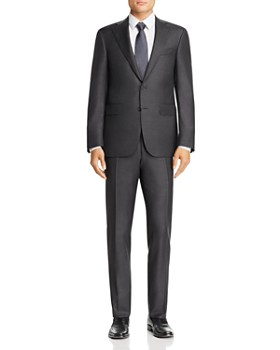 Canali - Capri Sharkskin Slim Fit Wool Suit