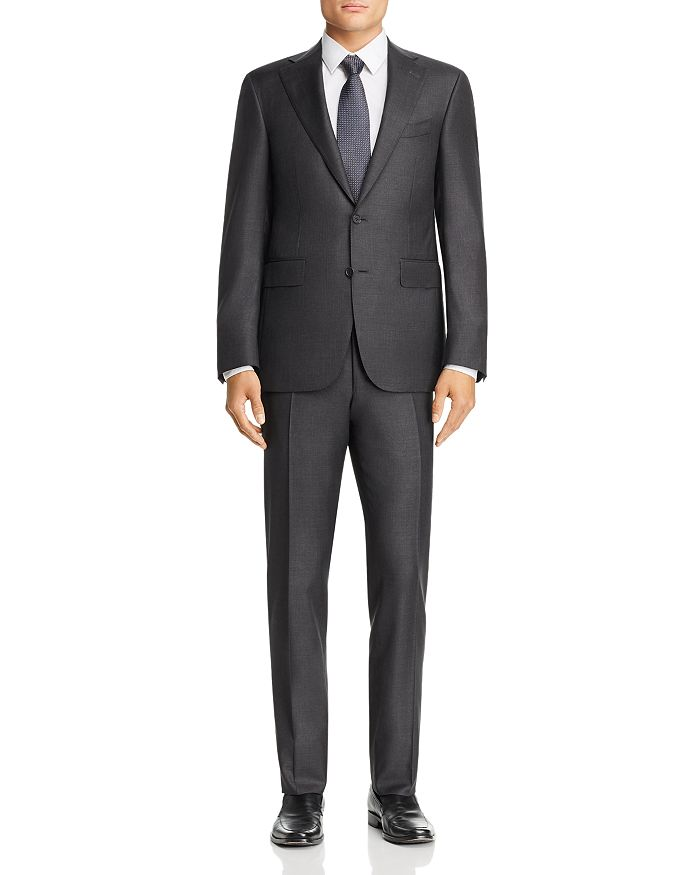 Canali - Capri Sharkskin Slim Fit Suit
