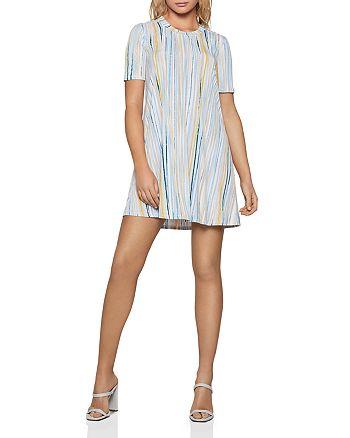 BCBGENERATION - Striped Jersey Shift Dress