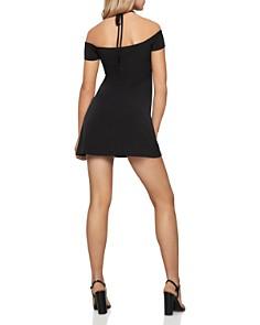 BCBGENERATION - Tie-Front Off-the-Shoulder Dress