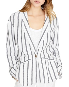 Sanctuary - Artist Striped Blazer
