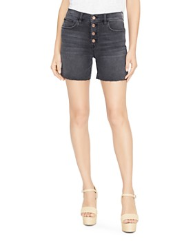 Sanctuary - Fearless Denim Shorts in Coyote Black