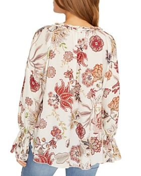 Sanctuary - Floral-Print V-Neck Top