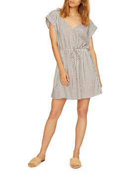 Sanctuary - Striped V-Neck Dress
