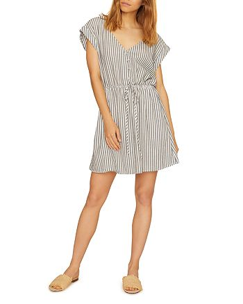 Sanctuary - Striped V-Neck Dress