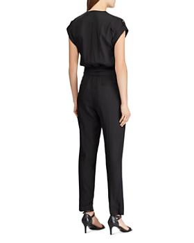 Ralph Lauren - Cap-Sleeve Jumpsuit