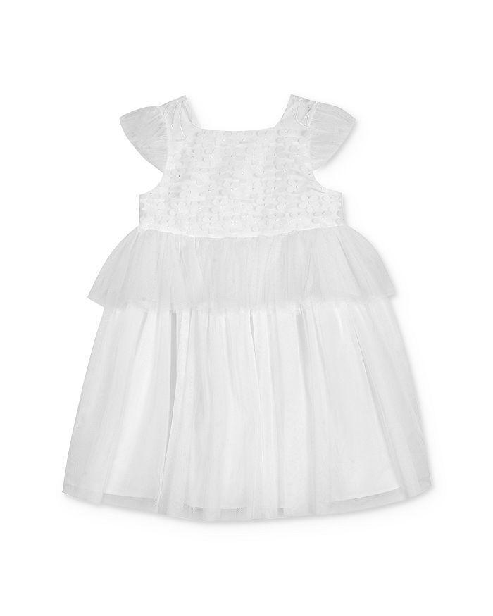 Pippa & Julie - Girls' Floral Peplum Dress - Little Kid, Big Kid