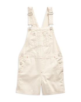 Ralph Lauren - Girls' Denim Overall Shorts - Big Kid