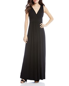 Karen Kane - Sleeveless V-Neck Maxi Dress