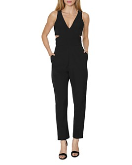 Laundry by Shelli Segal - Cutout Core Jumpsuit
