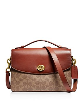 COACH - Cassie Signature Coated Canvas Crossbody