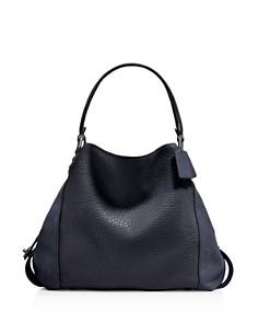 COACH - Edie 42 Mixed Media Shoulder Bag