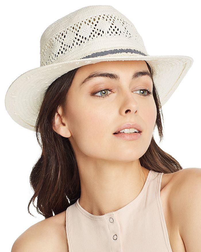 b9848959d9683 August Hat Company Denim-Trim Woven Hat - 100% Exclusive ...