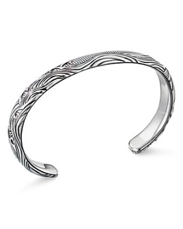 David Yurman - Sterling Silver Waves Cuff Bracelet