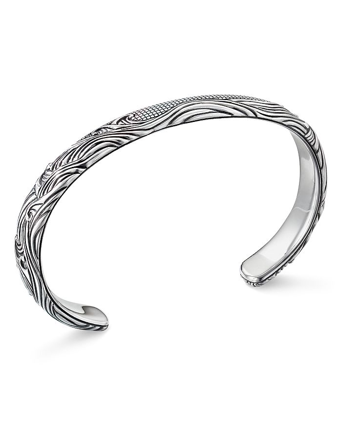 David Yurman - Sterling Silver Waves Cuff Bracelet
