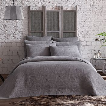 American Home Fashion - Estate Origami 2-Piece Quilt Set, Twin