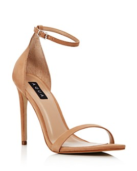 AQUA - Women's Siri High-Heel Sandals - 100% Exclusive