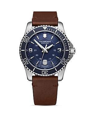 Victorinox Swiss Army Maverick Blue Dial Watch, 43mm