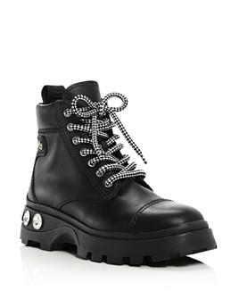 Miu Miu - Women's Never Mind Crystal Boots
