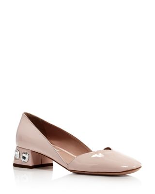 Rocchetto Crystal Embellished Pumps