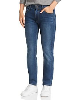 7383014ffd21d PAIGE - Lennox Slim Fit Jeans in Thatcher ...