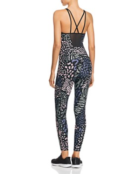 Calvin Klein - Animal-Print Jumpsuit