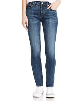 7 For All Mankind - Josefina Boyfriend Jeans in Medium Blue