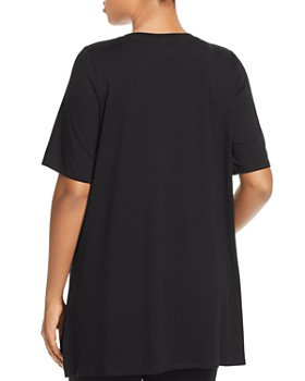 Eileen Fisher Plus - Elbow-Sleeve Tunic Top