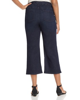 Eileen Fisher Plus - Cropped Denim Pants