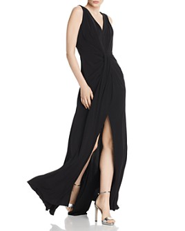 Laundry by Shelli Segal - Draped Jersey Gown