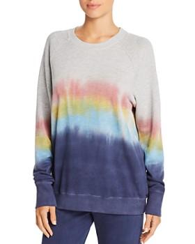 Sundry - Rainbow Dip-Dye Sweatshirt